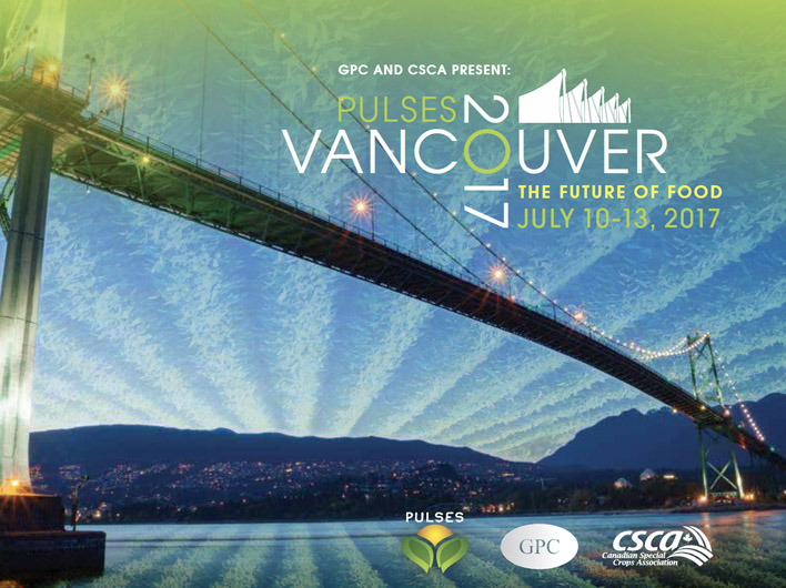 Launch of GPC Pulses Contract #1 at Vancouver Convention, July 2017