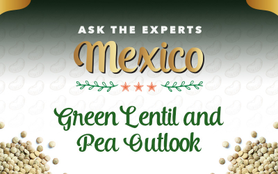 GPC Ask the Experts Mexico: Green Lentil and Pea Outlook