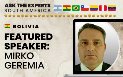 Bolivia Featured Speaker at Ask the Experts: South America